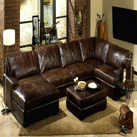 Chocolate Couches by 15 Photos Chocolate Brown Sectional Sofa Sofa Ideas