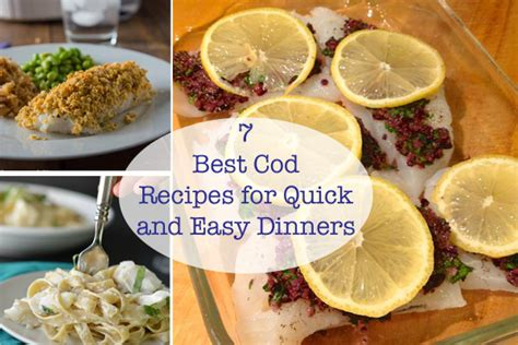7 best cod recipes for quick and easy dinners sarah s cucina bella