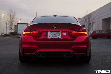 matte red bmw a matte red beauty bmw m4 photoshoot my car portal