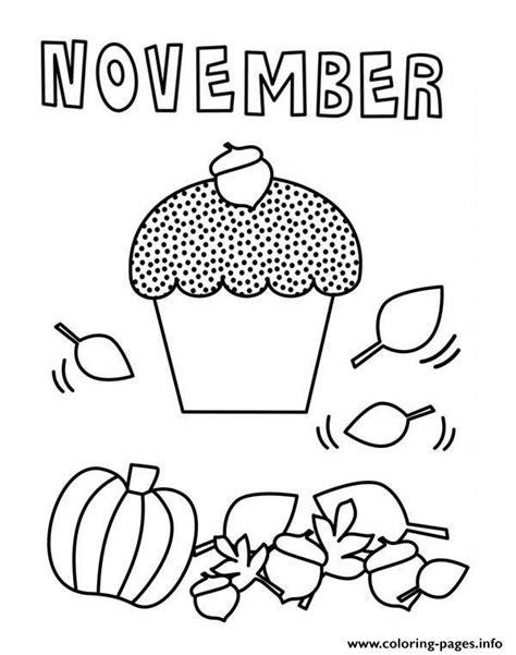 november color november coloring pages printable