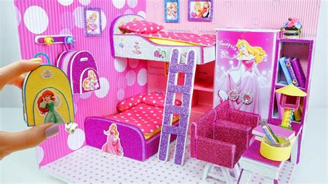 diy miniature dollhouse room rapunzel room decor
