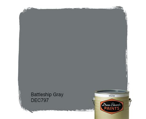 battleship gray dec797 dunn edwards paints