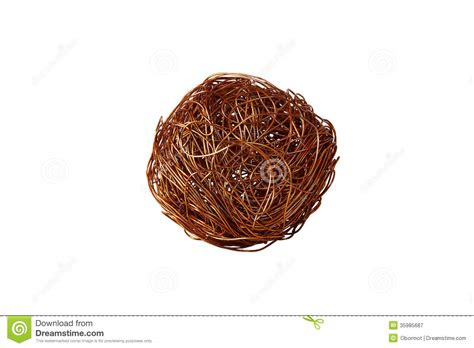 tangle of copper wire royalty free stock photography