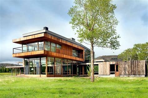 modern farm house design  highline partners  montana