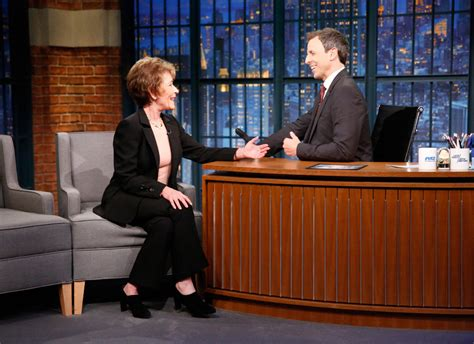 megyn kelly judge judy interview judge judy sheindlin on kelly clarkson appears tom odell performs on seth meyers