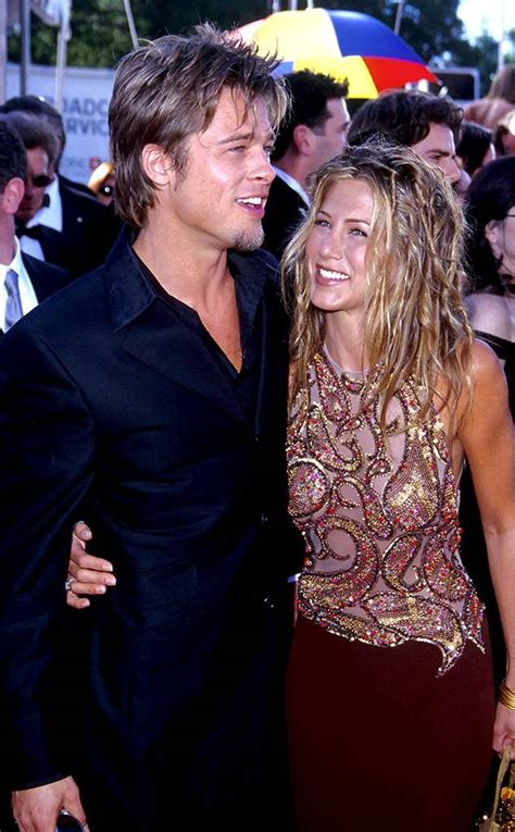 So What If Aniston Is Dating A Hunk by Why Brad Pitt And Aniston Are Still Everyone S