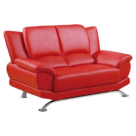 sierra red bonded leather sofa loveseat living room jesus loveseat red leather dcg stores