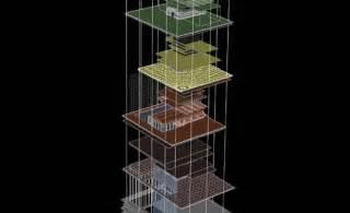 Mukesh Ambani Home Interior by Perkins Will S Antilla Green Tower In Mumbai