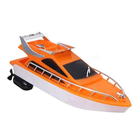 orange boat 26x7 5x9cm orange plastic electric remote control kid