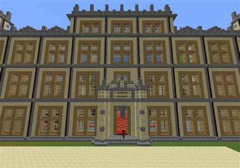 Build My House Online Downton Abbey Highclere Castle Minecraft Project