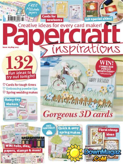 Paper Craft Magazines - papercraft inspirations 05 2017 187 pdf magazines
