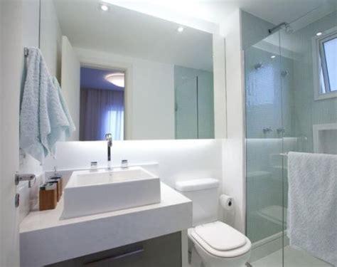 decoração de banheiro pequeno todo branco banheiro branco 40 projetos e dicas sensacionais
