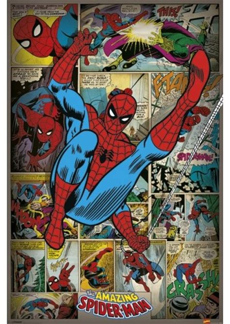 caution spider in baggie in freezer a comic novel about finding resolve in middle age and courage in the middle ages books spider marvel comics poster retro gekostar