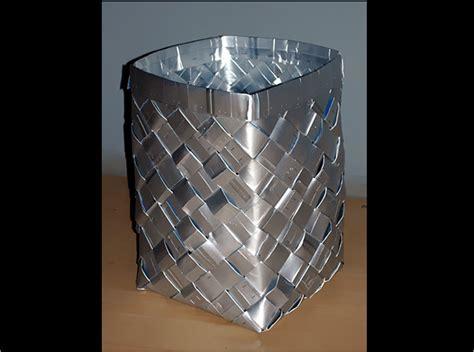 cestos en materiales reciclables elaborad un 250 til cesto con envases de brik ecoembes