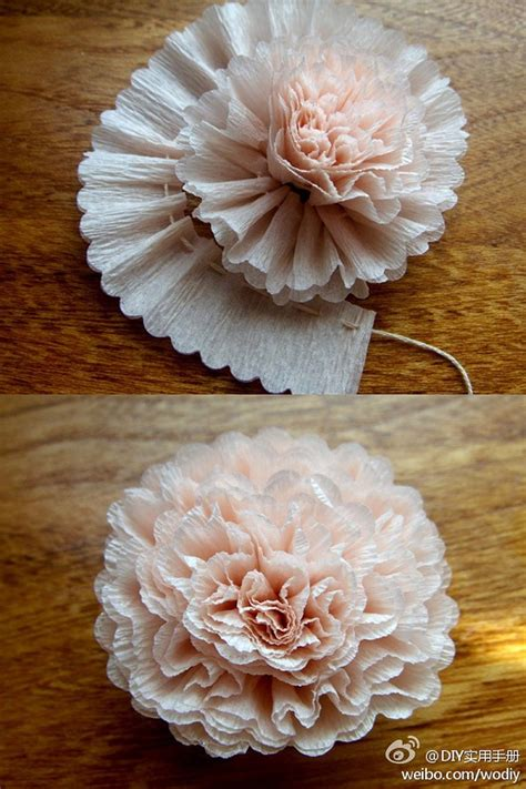 Paper Flower Ideas - simple paper flower craft ideas