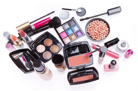 Makeup Makeover Satu Set set of cosmetic makeup products stock photo colourbox