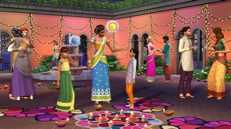 drapey christmas lights sims 4 update october 2017 brings diwali celebration pack player one