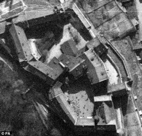 google earth during the second world war: amazing aerial