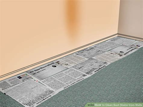 clean wall stains how to clean soot stains from walls 15 steps with pictures