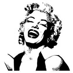 Betty Boop Wall Stickers marilyn monroe wall art marilyn monroe stencil marilyn