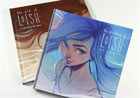 the art of loish the sketchbook of loish art in progress by loish and 3dtotal publishing kickstarter