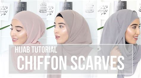 youtube tutorial shawl chiffon hijab tutorial chiffon scarves fashionwithfaith youtube
