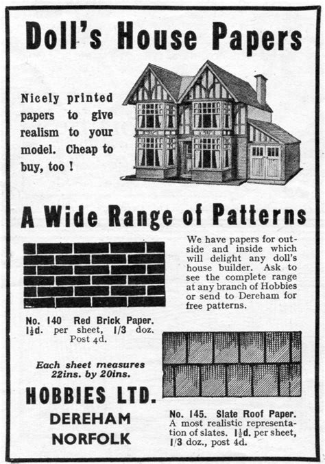 A Dolls House Essay by Hobbies Of Dereham Dolls Houses Part 1 By Green Dolls Houses Past Present