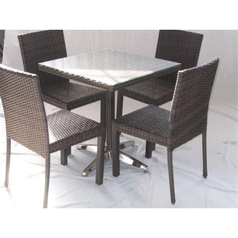 tavoli e sedie per bar da esterno tavolo polyrattan arredamento locali contract