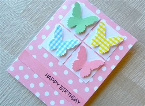 Handmade Greeting Cards For Birthday Ideas - greeting card the 25 best birthday cards ideas on