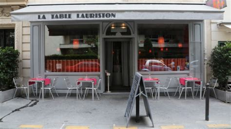 la table lauriston in restaurant reviews menu and