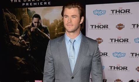 thor film actor name thor and rush actor chris hemsworth on family life and the