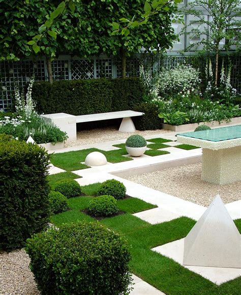Contemporary Backyard Landscaping Ideas Garden Design Ideas 38 Ways To Create A Peaceful Refuge