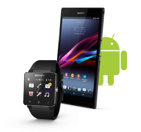 android compatible smartwatch sony smartwatch sw2 android compatible bluetooth 3 black bnib rrp 163 120 ebay