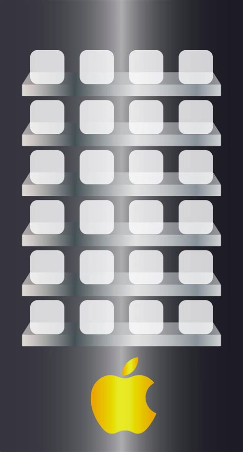 apple logo shelf kin cool wallpapersc iphones