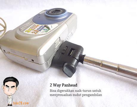 Monopod Kamera Pocket monopod kamera digital atau handphone panjang 1 1 meter berat 198gr