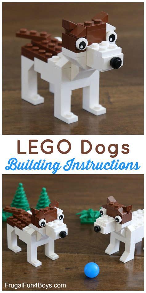 lego dog house instructions build a terrier dog with lego 174 bricks