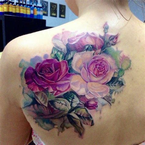 purple rose shoulder tattoo 25 best ideas about cover up tattoos on black