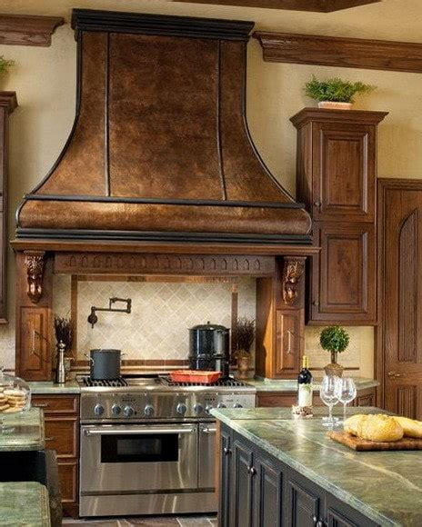 designer kitchen hoods 40 kitchen vent range designs and ideas us3