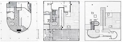 Villa Savoye Floor Plan by Le Corbusier Villa Savoye Architecture And Design