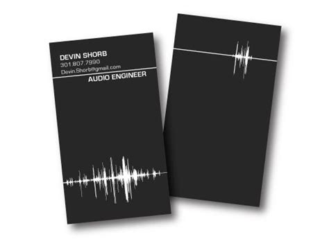 Audio Engineer Business Card Template by 11 Best Products Images On Business Cards