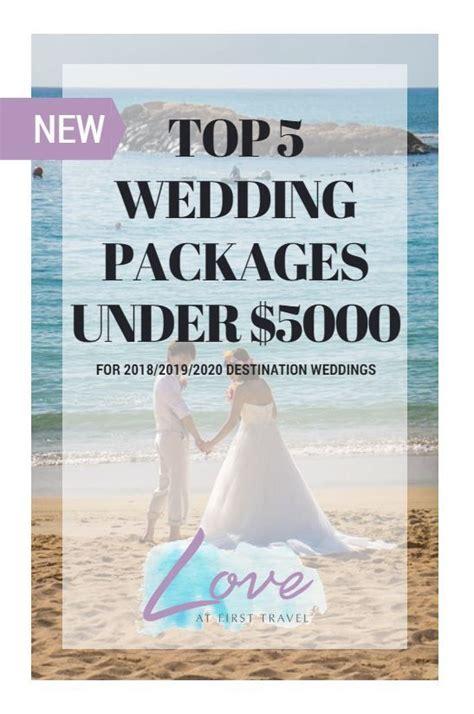 Weddings under $5000 // Budget Destination Wedding