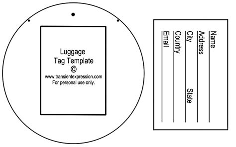 in tags template luggage tag template peerpex
