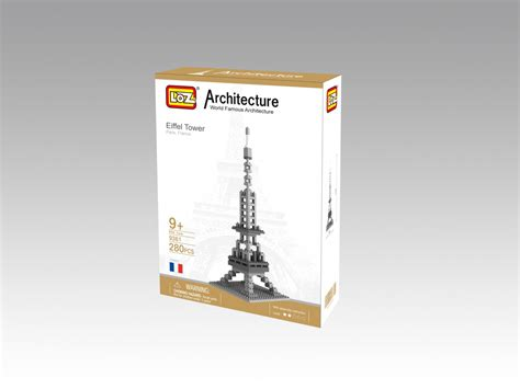 Mainan Eiffel Tower Loz 9361 lego nonoblocks koby sluban duplo blocks loz sets