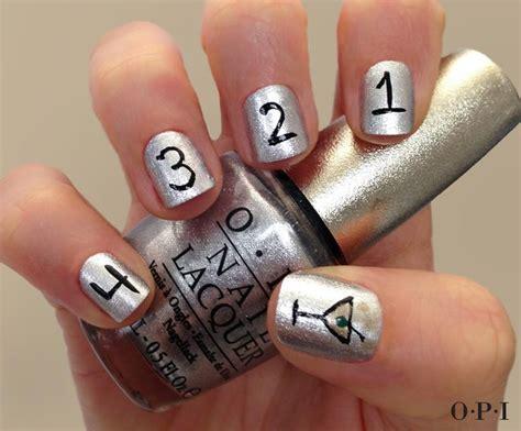 nail of new year new years nails nail