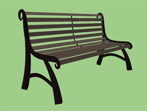 2d bench park bench opengameart org