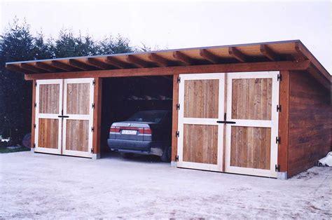 misure box auto box auto in legno di abete impregnato o colorato box auto