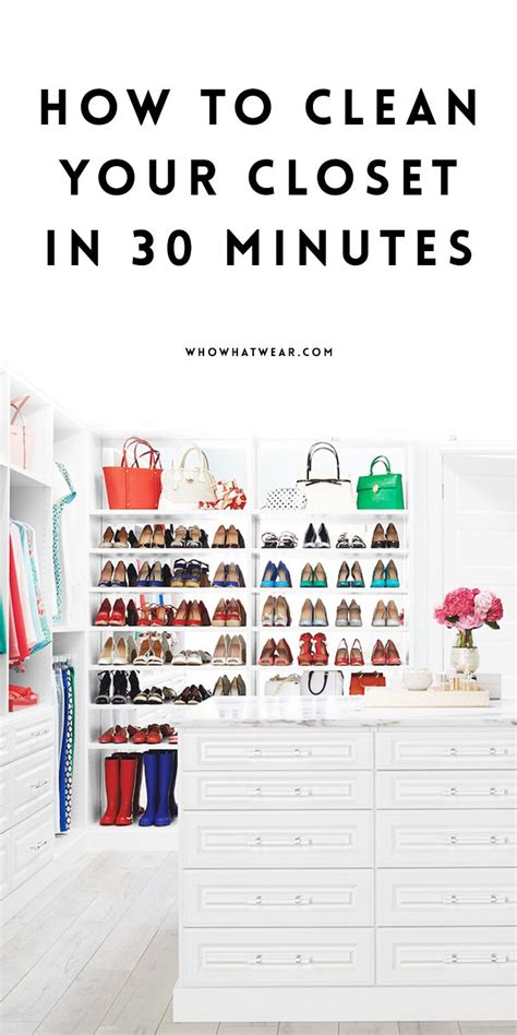 how to clean and organize your closet how to clean out your closet in 30 minutes or less