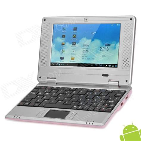 android netbook 703a 7 0 quot lcd android 4 1 netbook w wi fi lan hdmi pink free shipping dealextreme