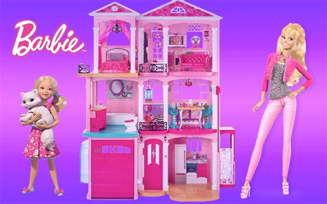 youtube barbie dream house barbie dreamhouse 2015 unboxing assembly and full house tour thechildhoodlife youtube