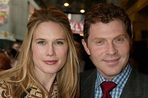 bobby flay wife bobby flay with wife stephanie march photo 2005 05 02